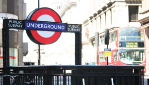 Underground sign